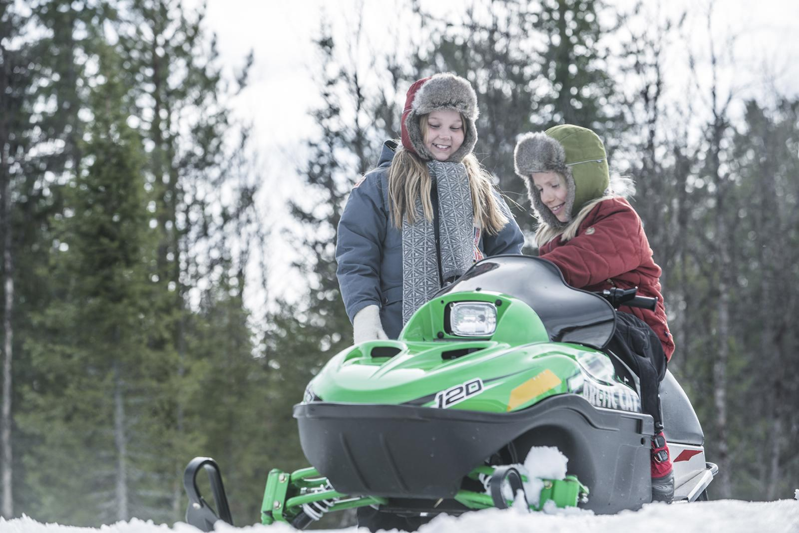 Suede-FAL Kids Snowmobile 2 jpg | BK Organisation